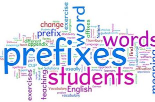prefixes in English